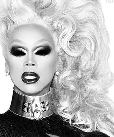 RuPaul.. going on my family gallery wall... she's family in my eyes.