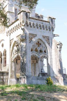 Castelo da Dona Chica located in the civil parish of Palmeira.