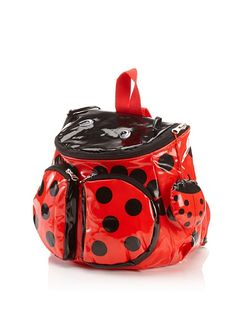 Ladybug Backpack: my sister would love this!