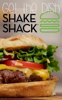 Hack Shake Shack's ShackBurger. Sauce sounds good, try changing ketchup for roster sauce