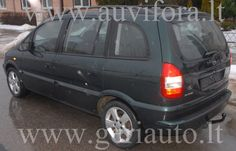 Parduodamas Opel Zafira Y 2.0 DTH 2004M. Žalios spalvos.Kaina 11600lt.(3352eu) | Auto Jums
