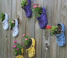 @Tracy Nettleship  thought of you and Wills crocs with this. :)  summer kids crafts | Summer kids crafts. | Handmade website