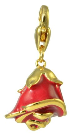 Disney Couture Beauty and the Beast Rose Charm -- Visit the image link more details. (This is an affiliate link and I receive a commission for the sales)  #NiceJewelry