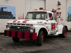 Ford Tow Truck - www.travisbarlow.com Insurance for towing & auto transporters for over 30 years
