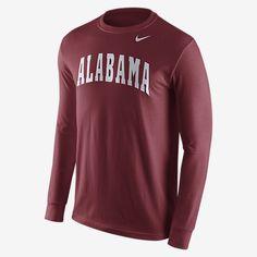 Nike College Wordmark Alabama Long Sleeve Shirt Patriots Team 65d300991