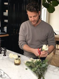 How To Arrange Flowers, Nate-Style