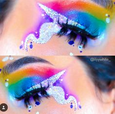 Ultimate unicorn makeup!!