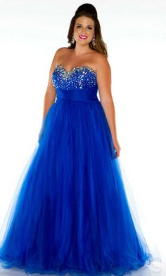 This is the dress I wore last year to prom! And I love that this model looks more like a person than a toothpick!