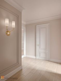 """Photo interior design of the hall from the project Int .- Фото дизайн интерьера холла из проекта «Инт… Photo interior design of the hall from the project """"Interior of the apartment in the style of modern American classics, RC"""" Royal Park, 214 sq. Home Room Design, Home Interior Design, Living Room Designs, House Design, Interior Photo, Design Kitchen, Home Living Room, Living Room Decor, Flur Design"""