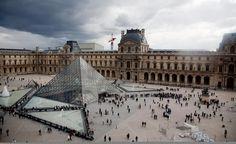 """Viva la Louvre."" (From: 40 Stunning Photos of France) #travel #budgettravel #france"