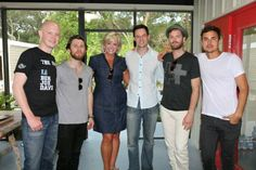 "The band ""The Fray"" I love them and had the chance to meet them when they were playing in St. Augustine. We bought the meet and greet package at a charity event"