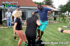 Royal Netherlands Embassy Tribal Survivor Team Building Pretoria East #TribalSurvivor #TBAE #TeamBuilding