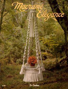 Vintage Macrame Elegance PDF pattern Ebook  by Superlucky8 on Etsy