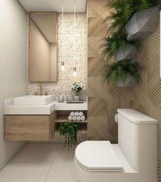 Bathroom decor, Bathroom decoration, Bathroom DIY and Crafts, Bathroom Interior design Bathroom Design Small, Bathroom Interior Design, Bathroom Ideas, Bathroom Plants, Bathroom Goals, Bathroom Organization, Small Spa Bathroom, Minimal Bathroom, Boho Bathroom