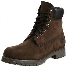 "Timberland Men's 10001 6"" Premium Boot,Dark Brown Nubuck,9.5 M US - http://buyonlinemakeup.com/timberland/9-5-d-m-us-timberland-mens-10061-6-premium-boot-wheat-7"