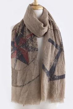 Changes In Latitude Scarf