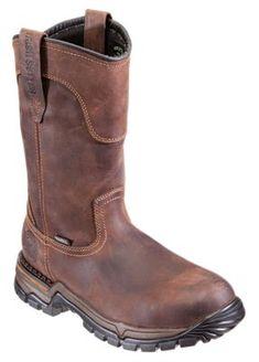 19c5c49b55a84d Irish Setter Two Harbors Waterproof Steel Toe Pull On Work Boots for Men