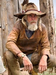 Old weathered cowboy stock image. Image of cowboy, hair - 7772369 Mountain Man Clothing, Mountain Man Rendezvous, Cowboy Pictures, Cowboys And Indians, Real Cowboys, Fur Trade, American Frontier, We Are The World, Cowboy And Cowgirl