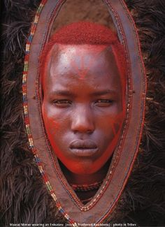 I think this is a Samburu man from Kenya or Tanzania.""