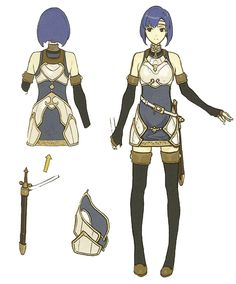 Catria Concept Art - Fire Emblem Echoes: Shadows of Valentia Art Gallery Female Character Design, Character Design Inspiration, Character Concept, Girl Inspiration, Character Art, Concept Art, Warrior Girl, Fantasy Warrior, Catria Fire Emblem