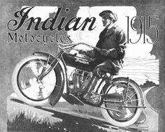 indian motorcycles 1915