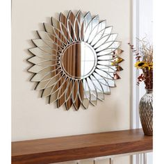 Shop for ABBYSON LIVING Chloe Round Wall Mirror. Get free shipping at Overstock.com - Your Online Home Decor Outlet Store! Get 5% in rewards with Club O!