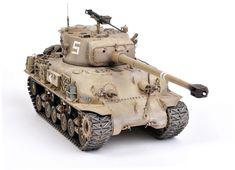 Tamiya IDF M-51 Sherman w/ GIAT 105mm Gun.