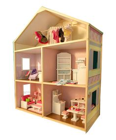 Look what I found on #zulily! Sweet Bungalow Doll House by Wicked Cool Toys #zulilyfinds