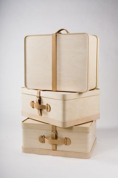 """KATRIINA NUUTINEN"" New version of the old traditional travel suitcase. Looks beautiful."