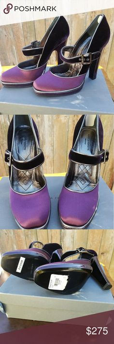I just added this listing on Poshmark: Alberta Ferretti Purple Velvet & Satin Heels. #shopmycloset #poshmark #fashion #shopping #style #forsale #Alberta Ferretti #Shoes