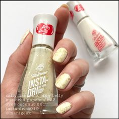 Latest Nail Colours, Nail Colors, Jelly Belly Beans, Jelly Beans, Hair And Nails, My Nails, Butter Popcorn, Just Pretend, Nail Polish Collection