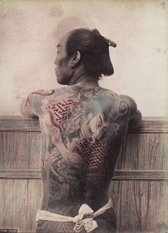 Extraordinary images from the newly opened Amsterdam Tattoo Museum, which charts the evolution of body art. Historical Tattoos, Tattoo Museum, Tattoo Tradicional, Amsterdam Tattoo, Traditional Japanese Tattoos, Traditional Ink, Japanese Photography, Japan Tattoo, Irezumi Tattoos
