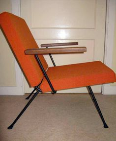Gispen fauteuil Wim rietveld