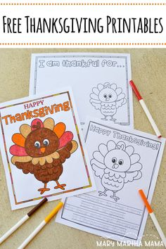 Looking for some fun? Check out these free Thanksgiving printables for kids. There's coloring and sheets to list what we are thankful for. Free Thanksgiving Printables, Thanksgiving Activities For Kids, Activities For Adults, Hosting Thanksgiving, Fall Crafts For Kids, Thanksgiving Crafts, Projects For Kids, Holiday Crafts, Free Printables