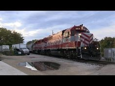 WSOR 3805 on L599 Departing Horicon 10/6/2013 - YouTube