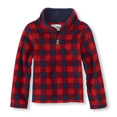 The Childrens Place - Extra soft and super comfy - the perfect pullover top he'll love!