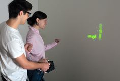 Disney's SideBySide brings handheld projection gaming to your bedroomwall