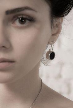 Melio Jewels ~ ANATOMY silver , plexiglas , earrings #silver #plexiglas #earrings #melio_jewels