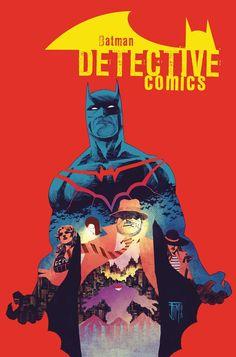 Detective Comics #44 cover by Francis Manapul