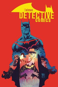 Detective Comics #44 cover by Francis Manapul