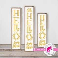 SVG Cut Files and Sublimation Designs by ChameleonCuttablesUS Monogram Frame, Monogram Fonts, Front Porch Signs, Front Entry, Front Door Design, Hello Sunshine, Porch Decorating, All Design, Shinee