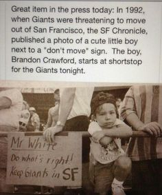sf giants Awwh little cutie lol
