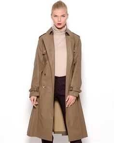Jean Paul Gaultier Femme Double Breasted Trench Coat - Made in Italy  JeanWomen #Outerwear