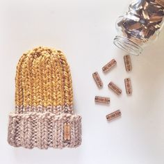 Slouchy chunky knit hats are coming back soon to Provision! www.ProvisionShop.etsy.com