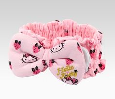 Hello Kitty Headband: Strawberry  Item #09807-201204  NEW  $25.00