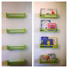 ikea kruidenrek - Google zoeken Bookshelves, Bookcase, Kidsroom, Reading Nook, Playroom, Projects To Try, Sweet Home, New Homes, Storage