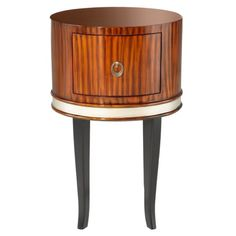 Find it at a href=http://www.bombaycompany.com/ target=_blankbombaycompany.com/a  - Deco Side Table - Pecan