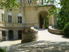 Tóalmás, Andrássy-kastély My Fantasy World, Palaces, Hungary, Castles, Abandoned, Buildings, Exterior, House Design, Patio
