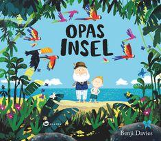 Opas Insel von Benji Davies: Sam und sein Opa sind unzertrennlich. Eines Tages nimmt Opa Sam mit auf eine Reise, die sie zu einem magischen Ort führt. Sie erobern eine Welt voller Wunder und machen die tollsten Entdeckungen. Doch als das Abenteuer sich dem Ende zuneigt, ist nichts mehr, wie es war.   Eine liebevoll erzählte Geschichte darüber, dass unsere Liebsten immer ganz nah bei uns sind - mögen sie auch noch so weit entfernt sein. | Aladin Verlag