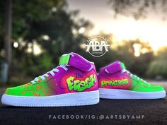 Custom Sneakers, Custom Shoes, High Top Sneakers, Sneakers Nike, Twiggy, Me Too Shoes, Air Jordans, Board, Stuff To Buy